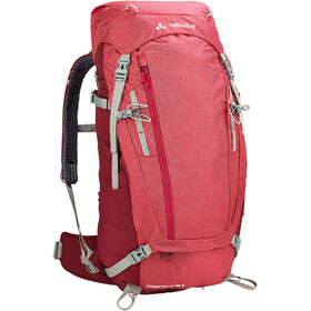 VAUDE Asymmetric 38+8 Sac à dos Femme, indian red